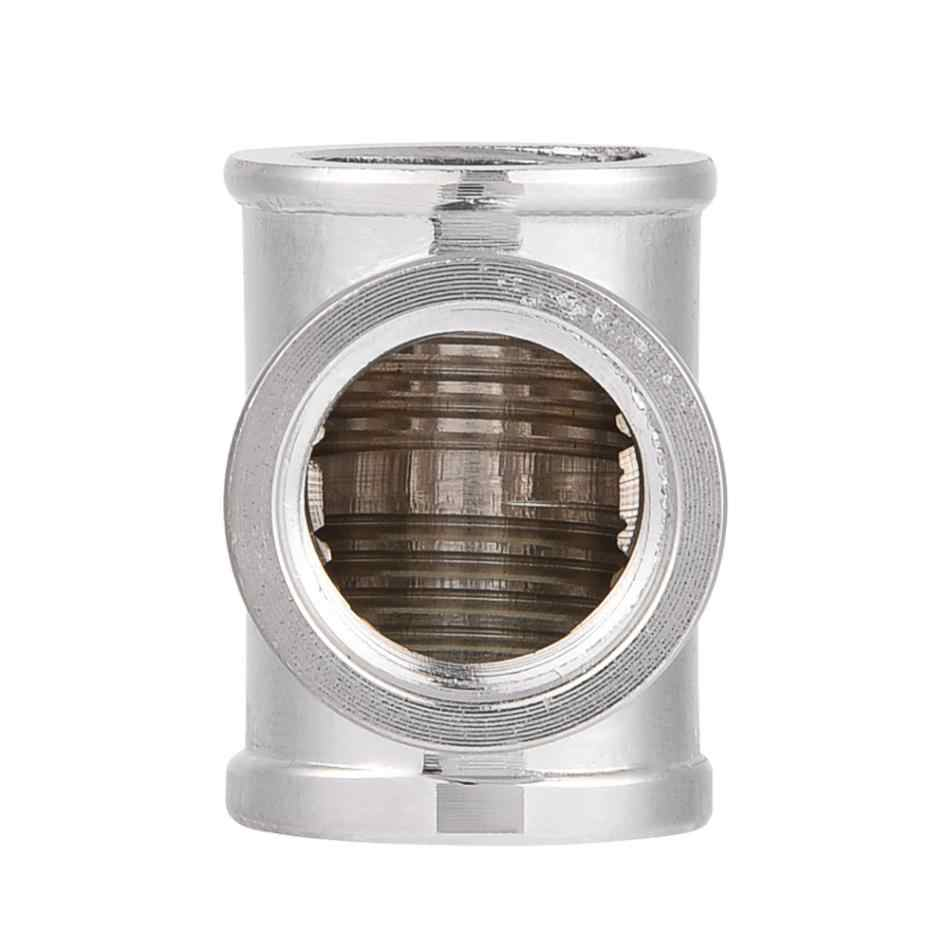 G1/4 резьба 3 способ Т образный фитинг сплиттер адаптер для ПК система водяного охлаждения 3 способ фитинги для труб разъем абсолютно новый