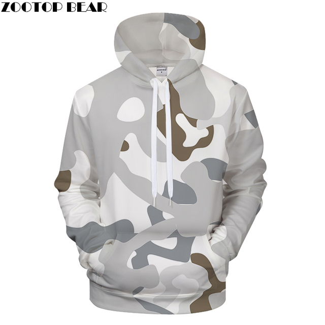 b1c4d51479dad Off White 3D Hoodies Men Women Sweatshirt Camo Tracksuit Pullover Hoody  Fashion Coat Casual 6xl Harajuku Drop ship ZOOTOP BEAR