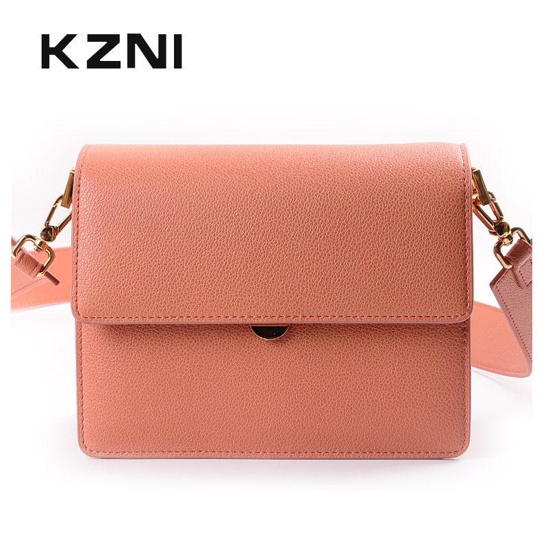 KZNI Genuine Leather Crossbody Bags for Women Leather Shoulder Bag Lady Women Leather Small Handbags Female Femmes Sac 9036KZNI Genuine Leather Crossbody Bags for Women Leather Shoulder Bag Lady Women Leather Small Handbags Female Femmes Sac 9036