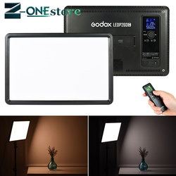 GODOX LEDP260C Ultra-thin 30W LED Video Light Panel Lamp +Battery KIT for Digital DSLR Camera Studio Photography