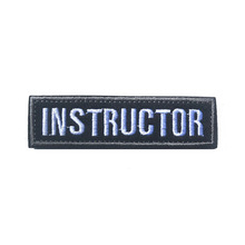 Instructor 1x3.75 inch Military Morale Patch Multiple Colors Tactical Patch High Quality Patch INSTRUCTOR