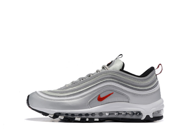 pretty nice 0a599 7873e Original Nike Air Max 97 OG QS 1697 RELEASE Men s Running Shoes Breathable  Outdoor Sports Shoes Nike Air Max 90 Mens Shoes