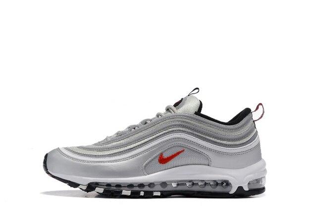 Original Nike Air Max 97 OG QS 1697 liberación de los hombres zapatos transpirables deportes al aire libre zapatos de Nike Air Max 90 zapatos para hombre