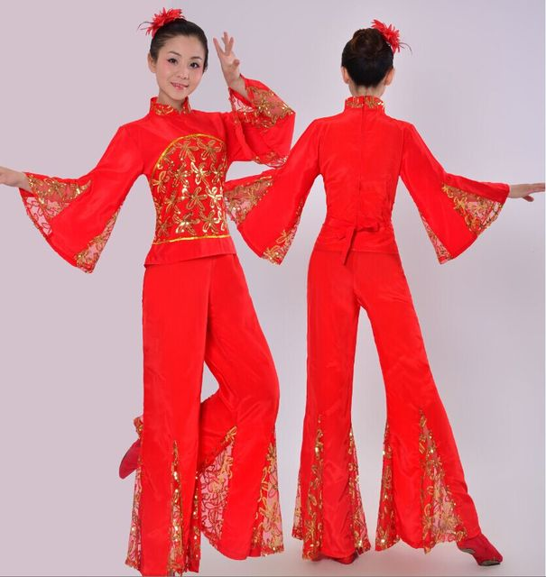 e71fbc1d4 2015 New Red Women Ladies Ancient Chinese National Costume ...