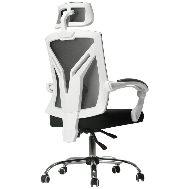 WB# 3799 Black and white tone computer household seat ergonomic swivel game gaming office chair franke bibliotheca cardiologica ballistocardiogra phy research and computer diagnosis