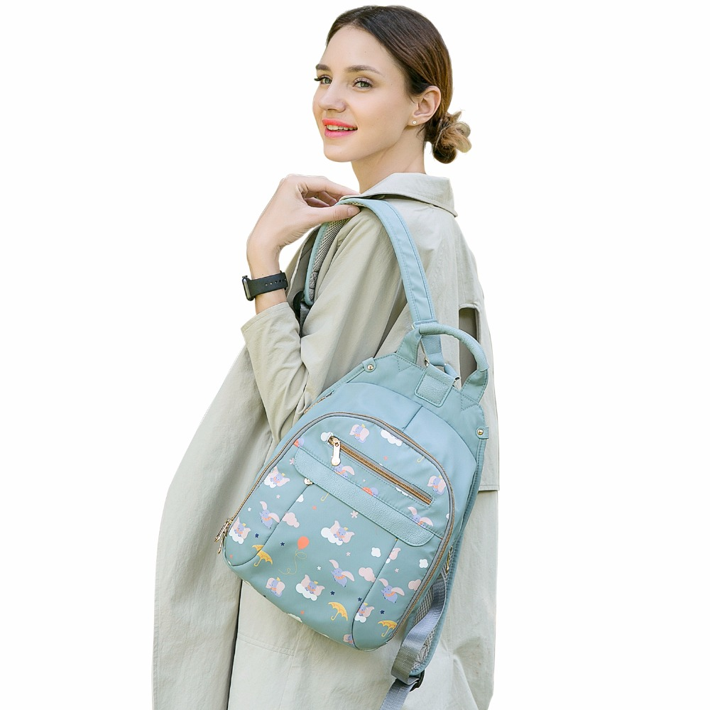 Image 4 - LAND Mommy Diaper Bags Mother Large Capacity Travel Nappy Backpacks with anti loss zipper Baby Nursing Bags drop ship-in Diaper Bags from Mother & Kids