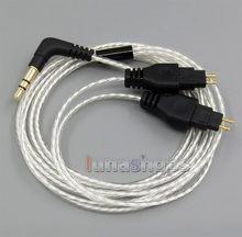 Léger Plaqué Argent OCC Câble Pour Sennheiser HD25sp HD265 HD535 HD222 HD224 HD230 HD250 Lin LN005072