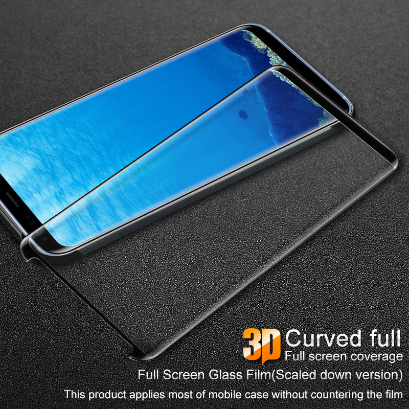 For Samsung font b Galaxy b font font b S8 b font Glas Film iMAK PRO