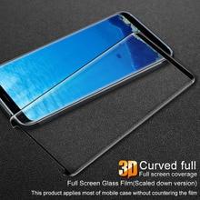 Для Samsung Galaxy S8 Glas Плёнки IMAK PRO 3d Полный протектор Плёнки для Samsung Galaxy S8 плюс закаленное Стекло Экран протектор