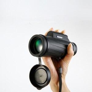 Image 4 - 50x52 Zoom Monoculaire Telescoop Scope voor Smartphone Camera Camping Wandelen Vissen met Kompas Telefoon Clip Statief Gift