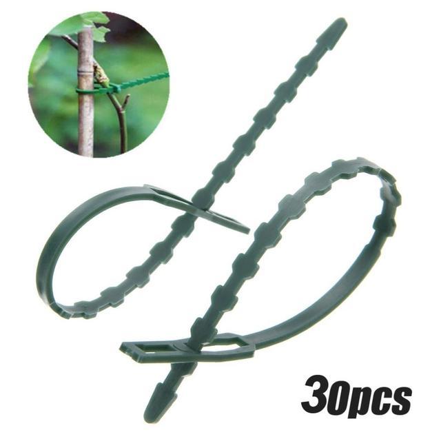 30 pz 17 cm Regolabile Riutilizzabile di Plastica Arrampicata Supporto Pianta Da