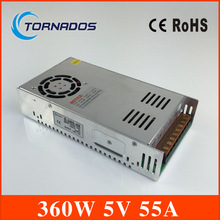 S-360-5 dc 5v  360w switching power source supply 5v LED driver good quality power supply dc 5v