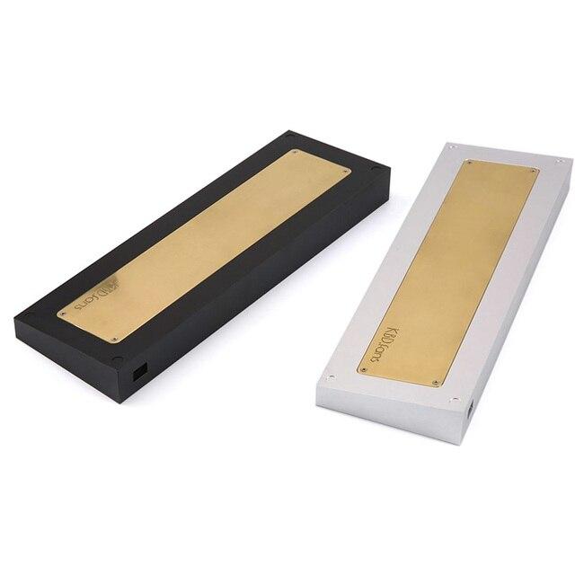 TOFU65 65% Aluminum case for custom mechanical keyboard fit TADA68 DZ65pcb