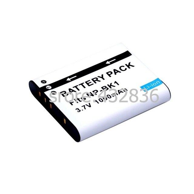 الجملة 1 قطعة 1000mAh NP BK1 BK1 ليثيوم أيون بطارية الكاميرا الرقمية + شاحن لسوني سايبر شوت DSC S950 S980 DSC S750