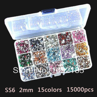 nails sex products mixed 15000pcs 3mm nail art rhinestone 1000pcs/color 15color giving 15 slots storage case box free shipping kamala gharti sahar and mixed sex nile tilapia in polyculture