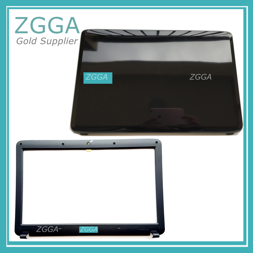NEW Genuine Laptop LCD Rear Lid Back Case Top Cover& lcd bezel For Samsung NP RV508 RV510 R523 R525 R528 R530 R540 BA75-02737A new laptop top cover for asus g752 a notebook lcd top lid cover bottom case