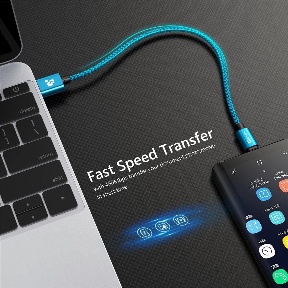 Samsung Sony HTC LG Cable üçün Micro USB Cable 2A 1m sürətli - Cib telefonu aksesuarları və hissələri - Fotoqrafiya 5