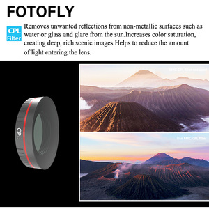 Image 4 - For DJI Osmo Action Camera Lens Filter UV/CPL Polarizing/ND 4 8 16 32 64 1000 Filters Set For Osmo Action Lenses Accessories