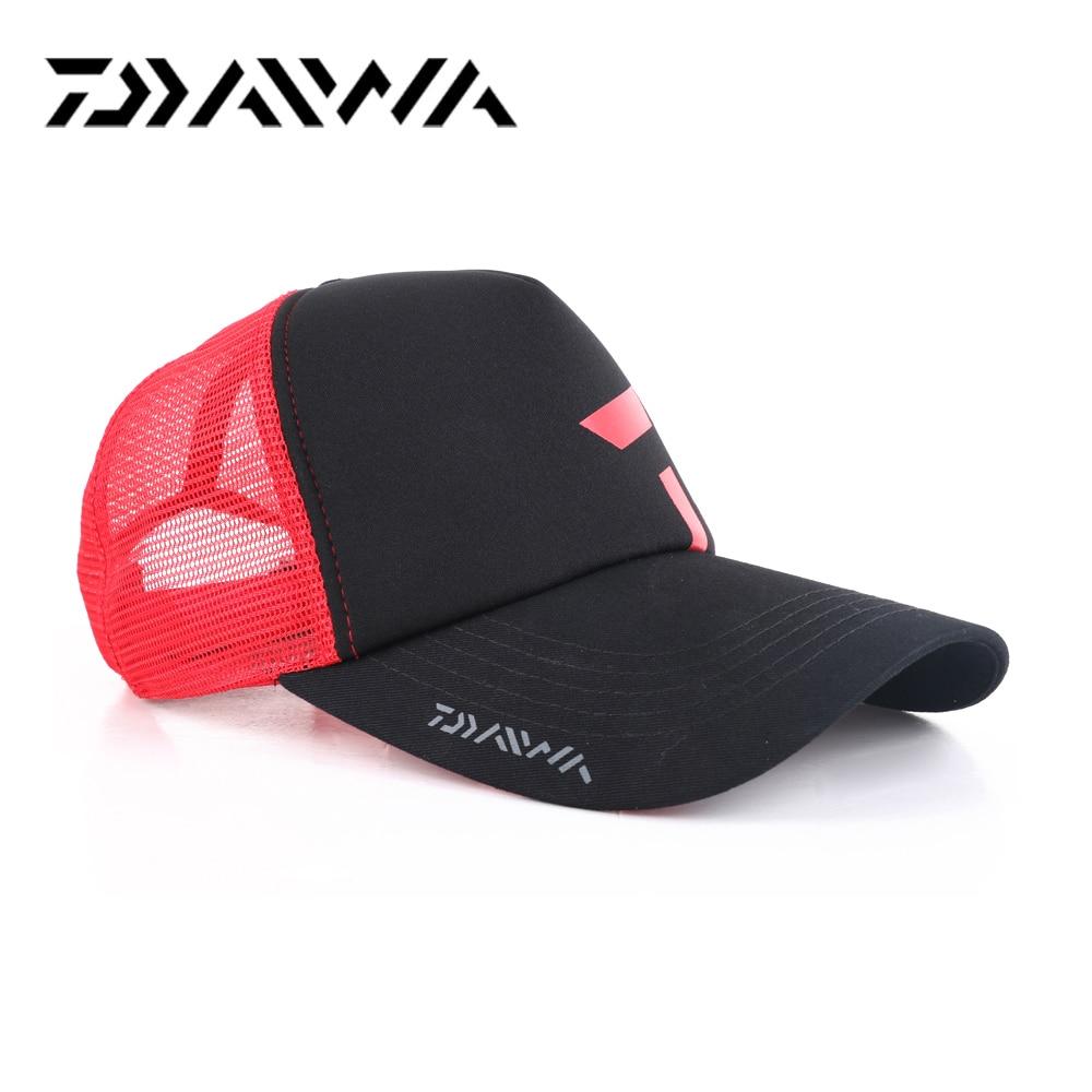Daiwa mens fishing waterproof hollow outdoor sports cap fishing hat New cap for fishing Cycling Baseball Golf Tennis Hiking Hat