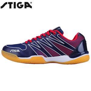 Image 2 - Echtes Stiga Tischtennis Schuhe für Männer frauen ping pong schläger schuh sport marke turnschuhe CS 3621