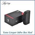 Yosta Livepor 160 Вт Окно Мод Vape VW/TC С Сухой Защиты Катушки OLED Экран Контроля Температуры Электронная Сигарета испаритель