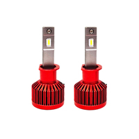 CSP chip car headlights canbus 12v 6000k 72W 12000lm auto headlamp error free super bright h1 led