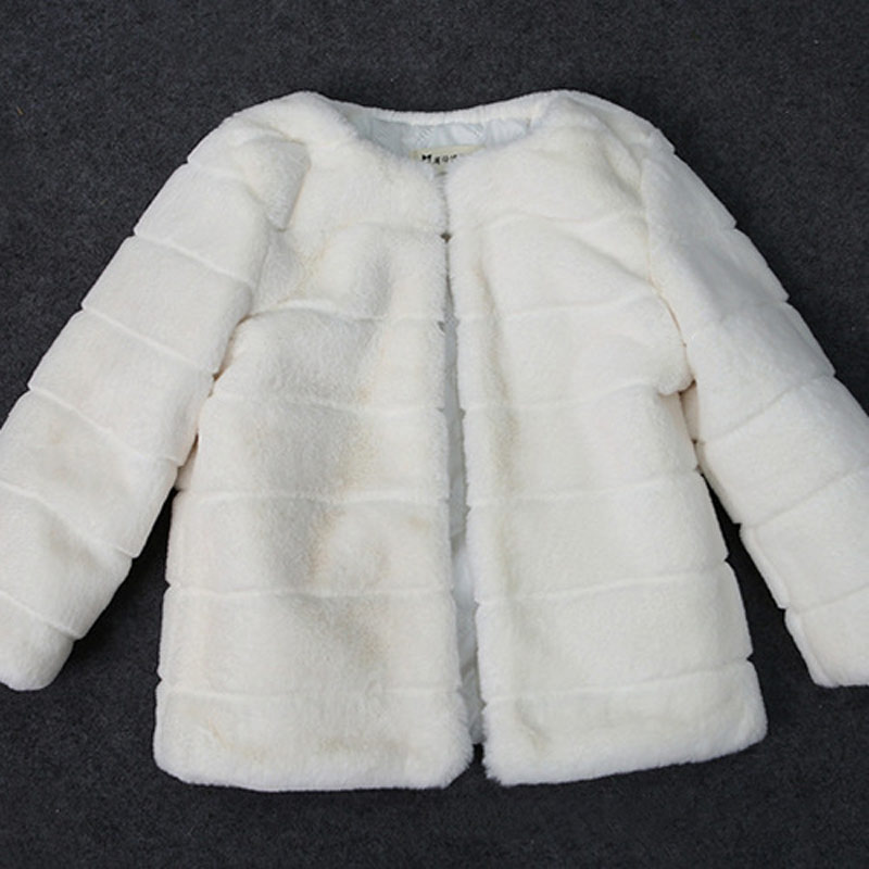 JKP New imitation rabbit fur boy girl fashion jacket autumn and winter coat baby wool sweater thick warm cotton jacket FPC-65 2018 new fashion baby boy s coat middle length baby wool cotton padded jacket faux fur coat children winter clothes