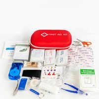 216 teile/los Erste Hilfe Notfall Kit Outdoor Sport Wasserdicht Für Familie Camping Reise Notfall Medizinische Behandlung YJJB004