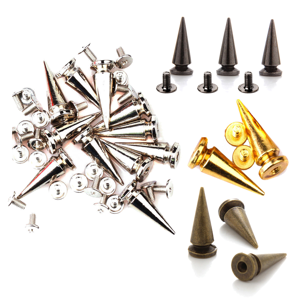 Best deals ) }}100pcs 10*25mm Tree Rivet Studs Spots