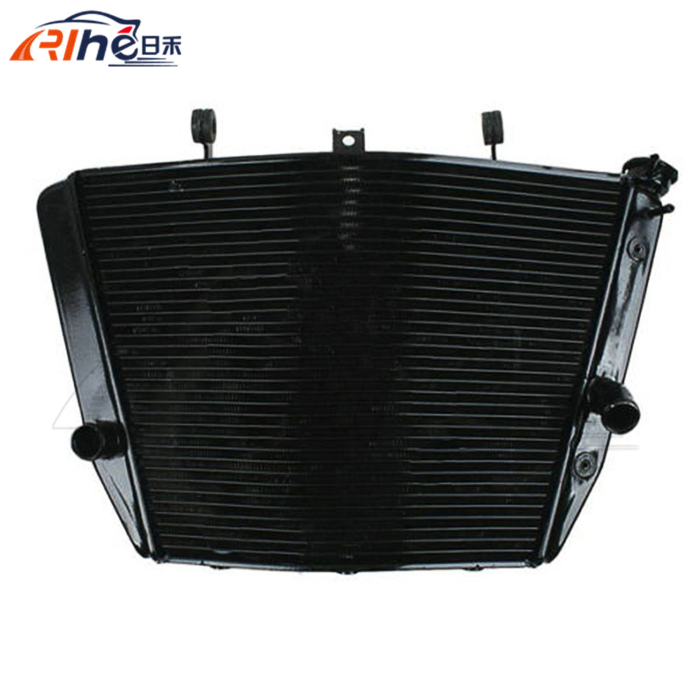 hot selling motorcycle radiator cooler aluminum motorbike radiator black color For SUZUKI GSXR1000 GSXR 1000 2007-2008 brand new motorcycle accessories radiator cooler aluminum motorbike radiator for kawasaki kx450f kx 450 f 2006 2007