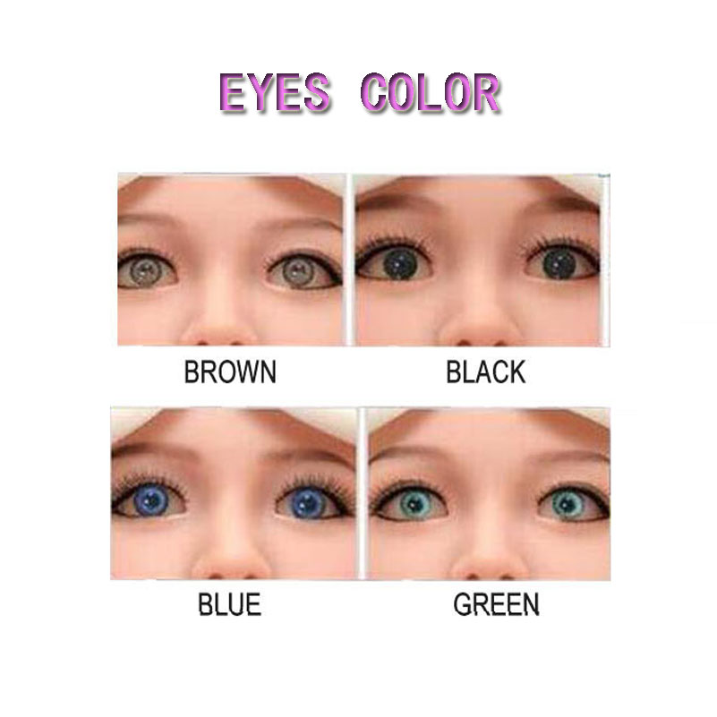 Sex Doll Eyes, Difference Eyes Color For Real Silicone Sex Dolls, TPE Sexy Doll, Love Dolls Can Fit For 100cm To 170cm Body