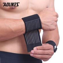 AOLIKES 1PCS Cotton Elastic Bandage Hand Sport Wristband Gym Support Wrist  Brace Wrap carpal tunnel - buy inexpensively in the online store with  delivery: price comparison, specifications, photos