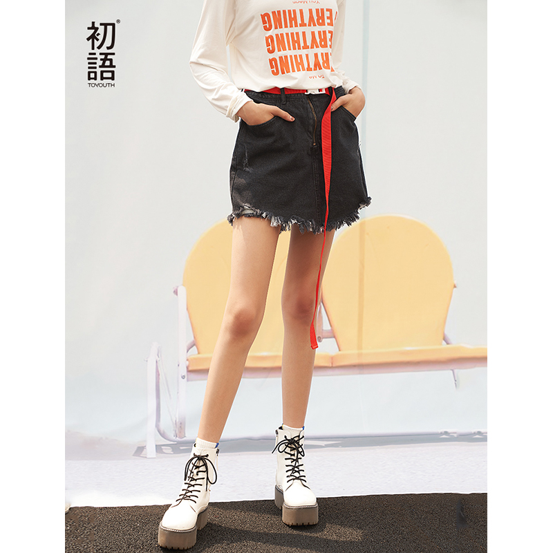 Toyouth Women Spring 2019   Shorts   Fashion High Waist Stright Sexy Female New Arrival Solid Color   Shorts