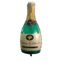 1pc Champagne Beer Bottle Balloons Aluminium Foil Balloon Wedding Decorations Birthday Party Adult Supplies