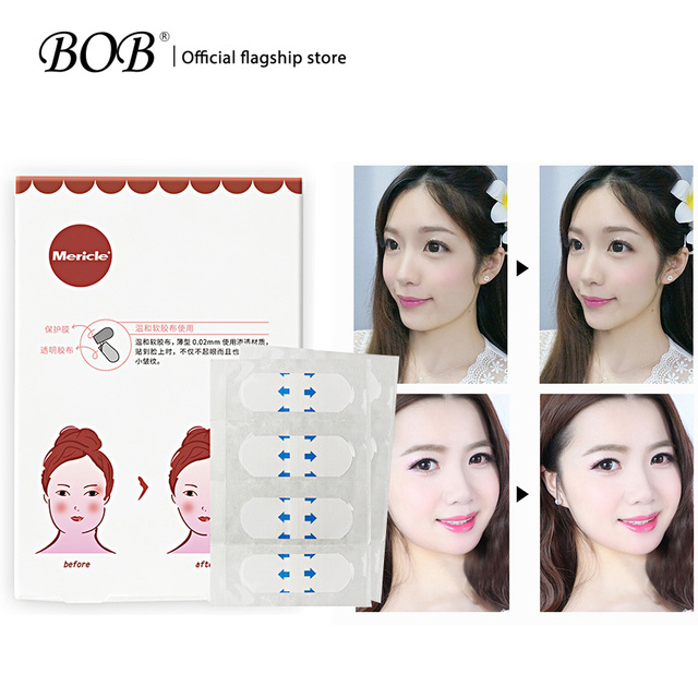 Etiqueta engomada de la cara delgada Invisible de la marca BOB arruga la cinta médica Invisible del artefacto