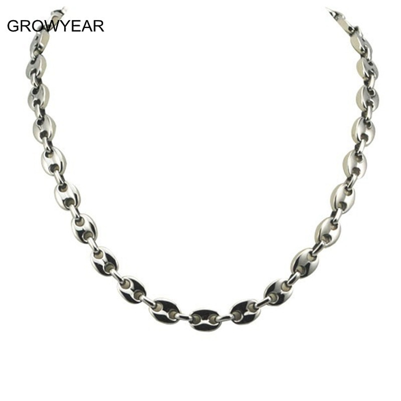 gold jewelry oval link in vince goldjet product normal gallery lyst camuto necklace metallic