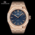 DIDUN Mens Watches Top Brand Luxury Quartz Watch Fashion Casual Simple Watch Male Wristwatches Luminous 30m Water resistant