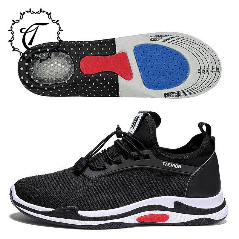 CatriCa donner semelle intérieure-coussin 2019 nouveau noir hommes chaussures été mâle décontracté respirant Designer de mode de luxe marque baskets 8822