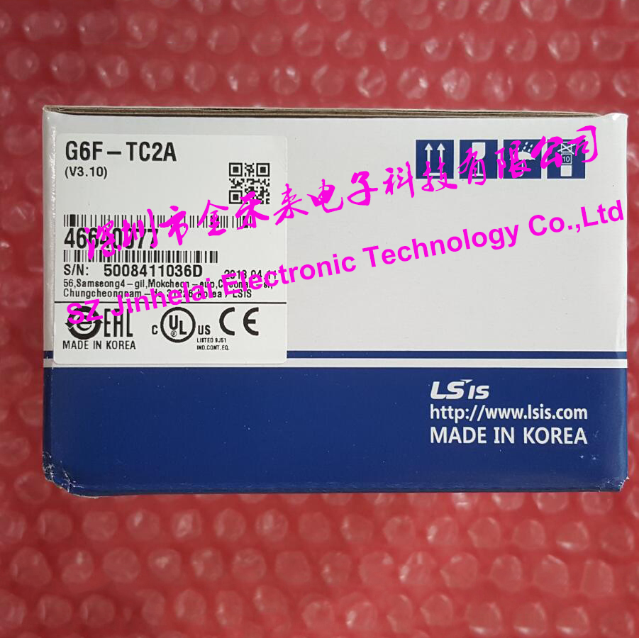100% New and original  G6F-TC2A  LS(LG)  PLC controller,Thermocouple Input Module