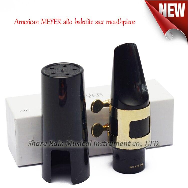 American MEYER  Eb Alto Bakelite Hard Rubber Sax  Mouthpiece