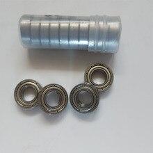 10pcs High Precision 698 698Z 698ZZ  2Z Miniature Ball Bearing Deep Groove Shielded Metal Bearings 8X19X6mm
