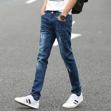 2017 luxury famous brand New Arrival Design straight Fashion mid waist slim fit Jeans For Mens Fashion Men Jeans zipper pants