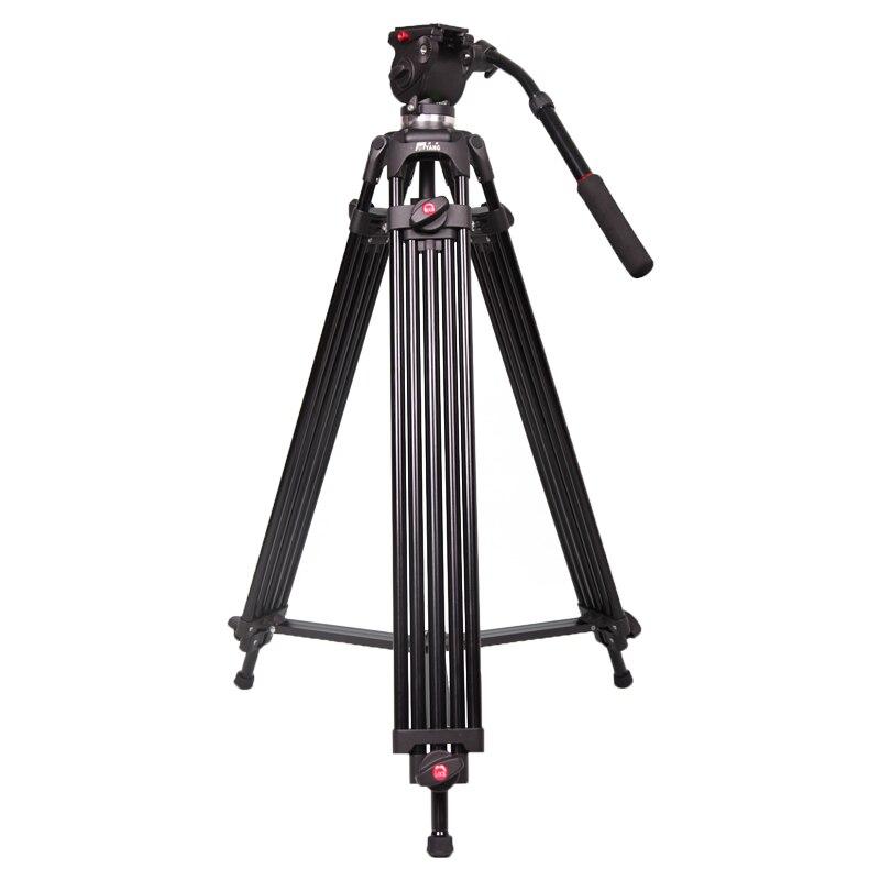 JY0508B JIEYANG Профессиональный штатив для видеокамеры/DSLR тяжелый видео штатив/головка жидкости/55,5 дюйма максимальная высота