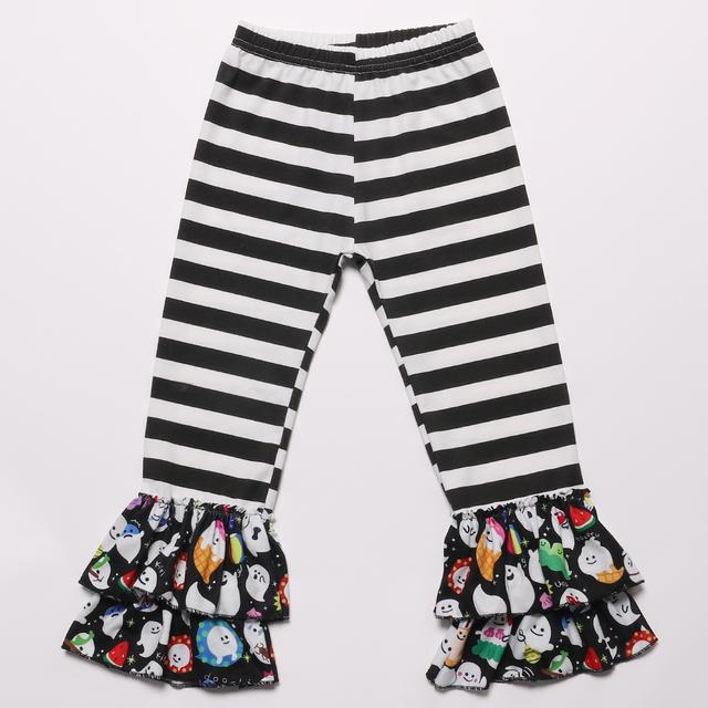 Fabulous Fashion Boutique Girls Halloween Long Sleeve Top Ruffle Pants