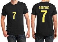 f3da331ff Printed Name Cristiano Ronaldo Cr7 T Shirt Men Short Sleeve 100 Cotton O  Neck T Shirts