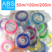 SMAFFOX 3D Ручка накаливания, 20 цветов ABS нити, 1,75 мм ABS, пластиковые ручки для 3d, 3D принтер материал, каждый цвет длиной 5 метров