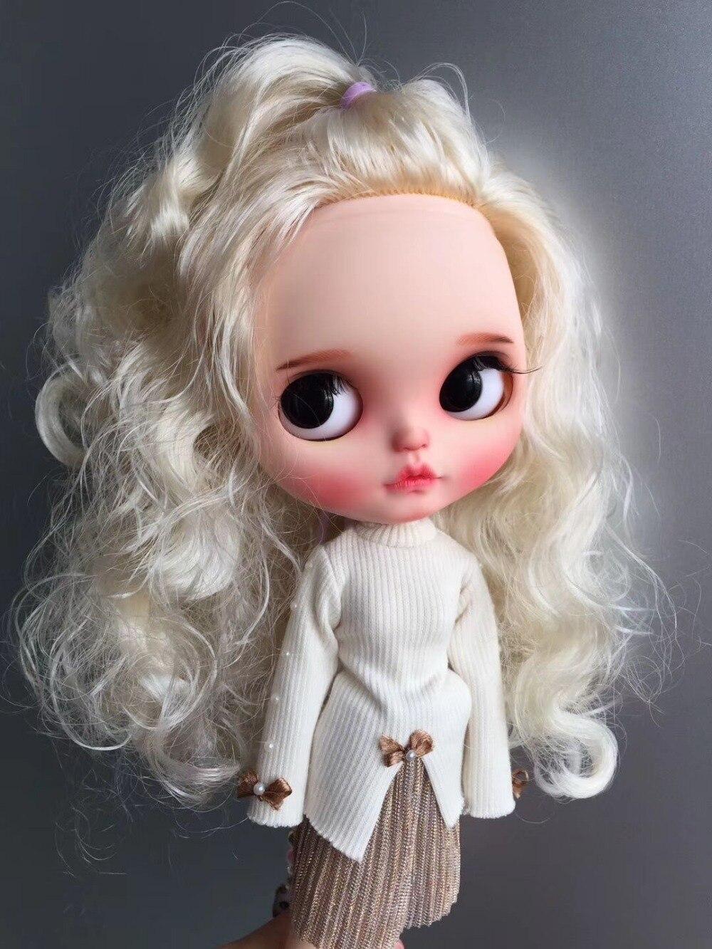 カスタマイズ人形ヌードブライス人形かわいい人形 20190306  グループ上の おもちゃ & ホビー からの 人形 の中 3