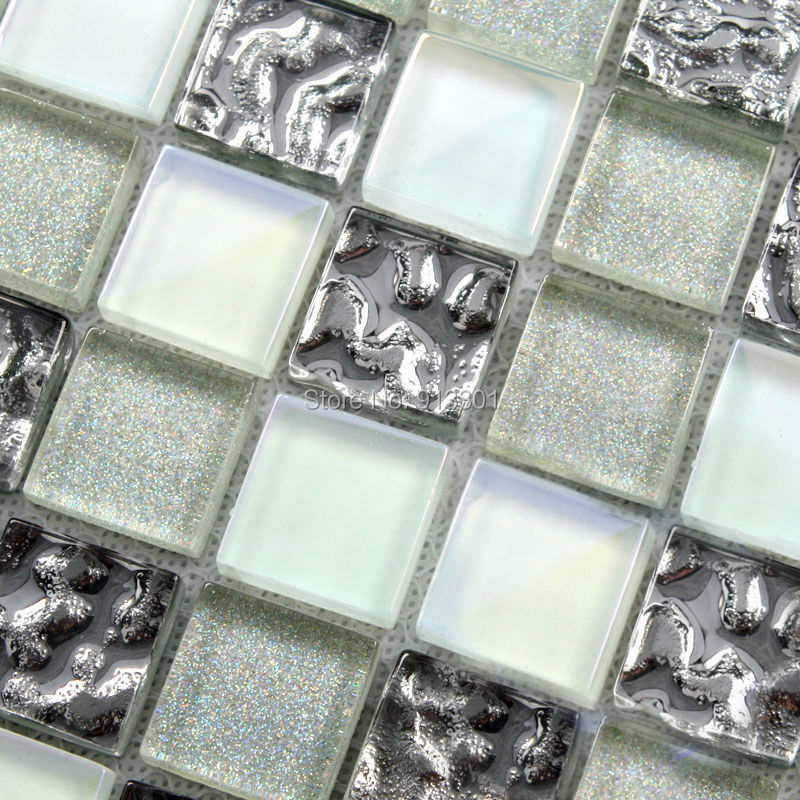 glass mosaic bathroom tiles glass mosaic tile backsplash cheap glass sheet 18483