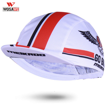 WOSAWE Helmet inside Cap Cycling Summer Ciclismo Caps Bike Headband PRO TEAM Bicycle Breathable Anti-UV Hat MTB