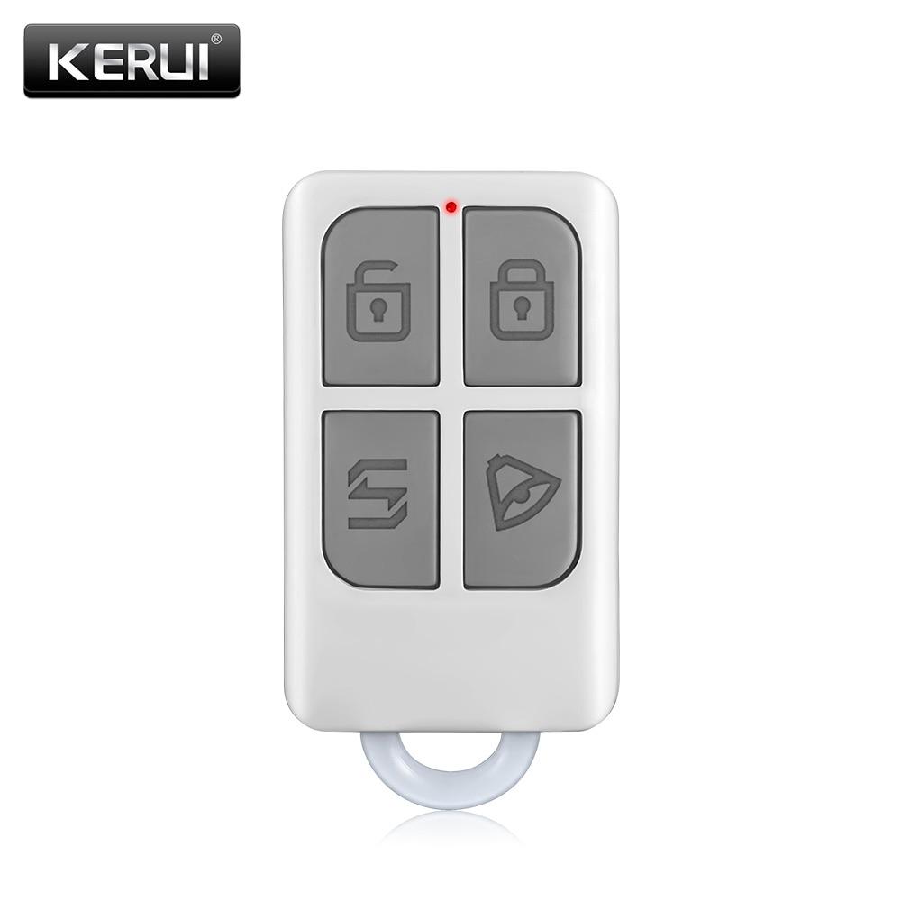 Alarm Accessories Wireless Portable Remote Control For KERUI Home Alarm System
